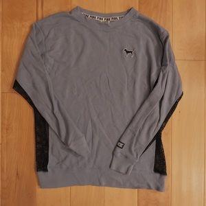 PINK Victoria's Secret Crewneck sweater with mesh